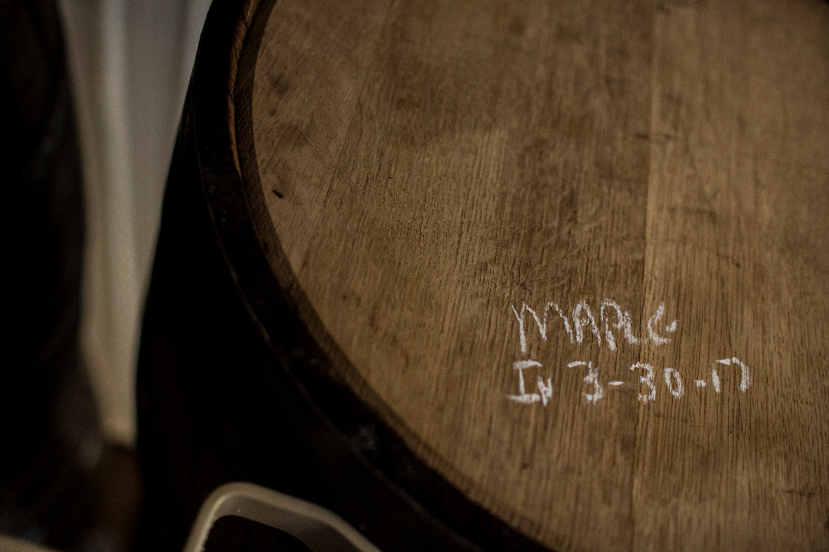 Maple Bourbon Barrel
