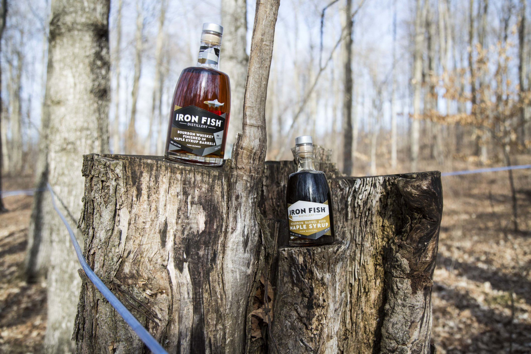 Maple Bourbon And Syrup-min