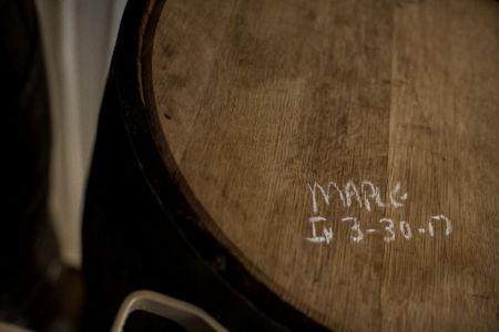 Maple Bourbon Barrel