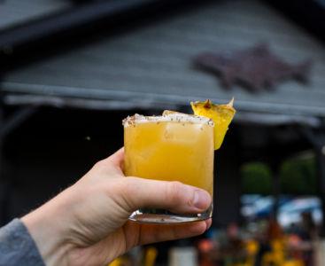 Smoked Pineapple Cocktail