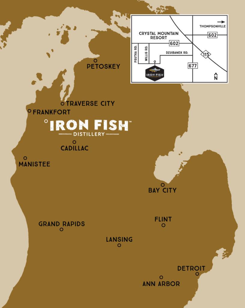 Contact iron fish distillery for Iron fish distillery thompsonville mi