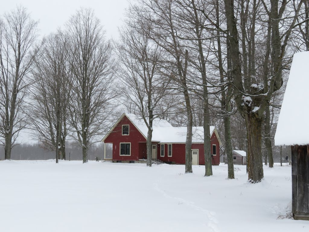 Farmhouse Rental Winter