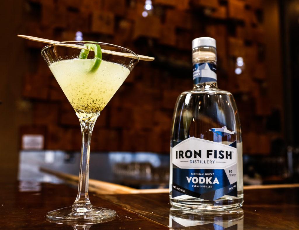 Joe green cocktail 6070 iron fish distillery for Iron fish distillery