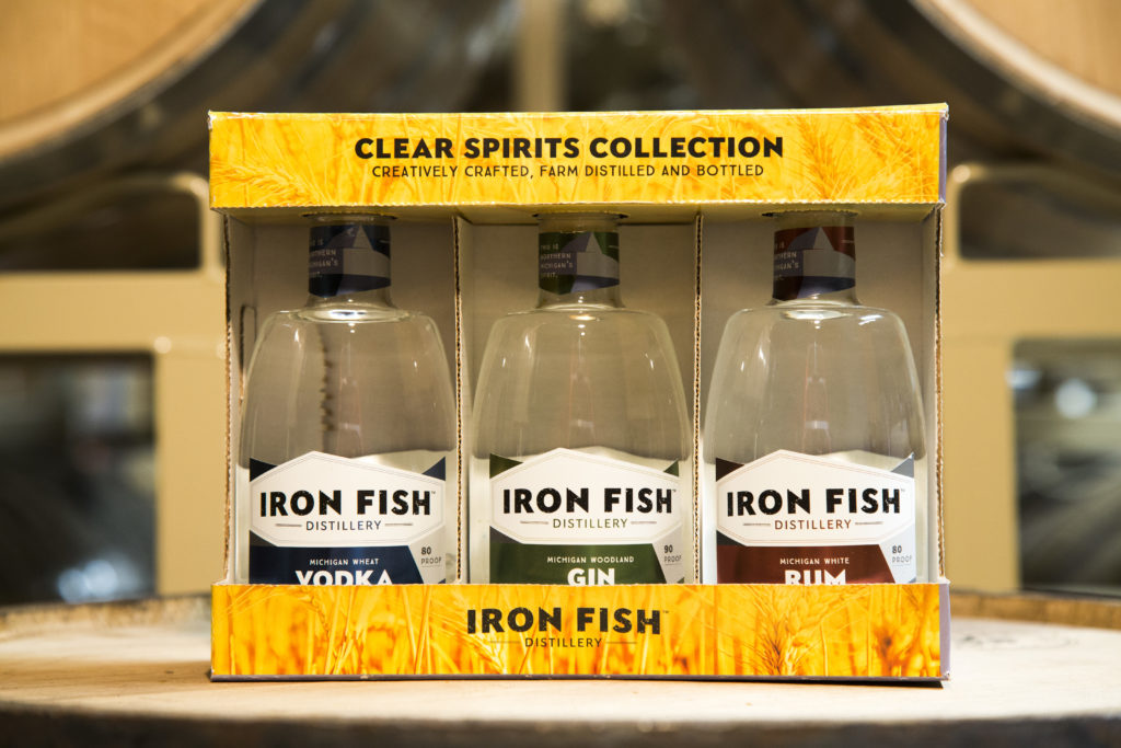 Clear spirits collection iron fish distillery for Iron fish distillery