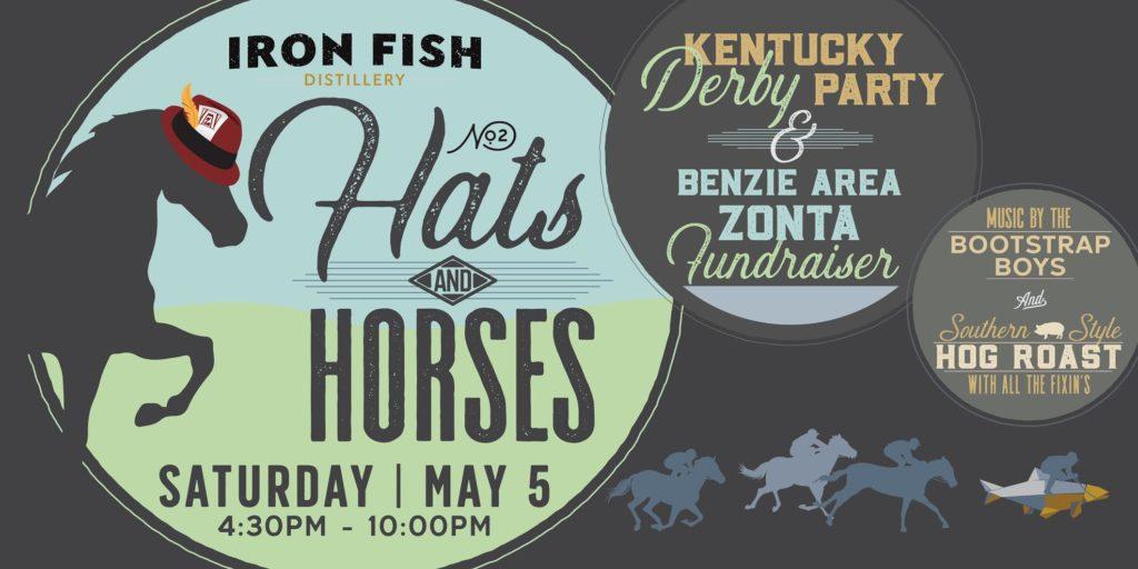 Hats horses and derby fun at iron fish distillery for Iron fish distillery