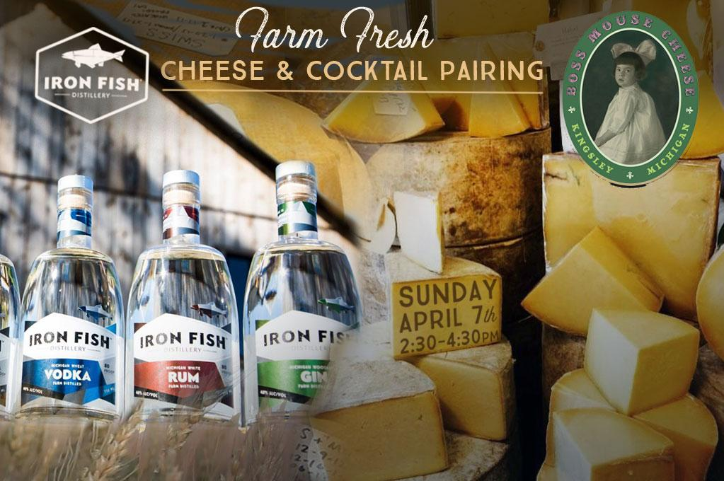Cheese & Cocktail Pairing with Boss Mouse Cheese x Iron Fish Distillery